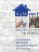 Visitekaart A. van Houdt